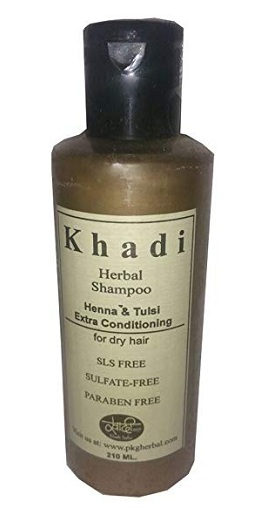 mild shampoo for dry hair