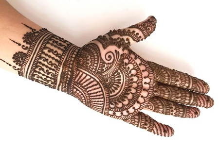 Latest Mehndi Designs For Wedding