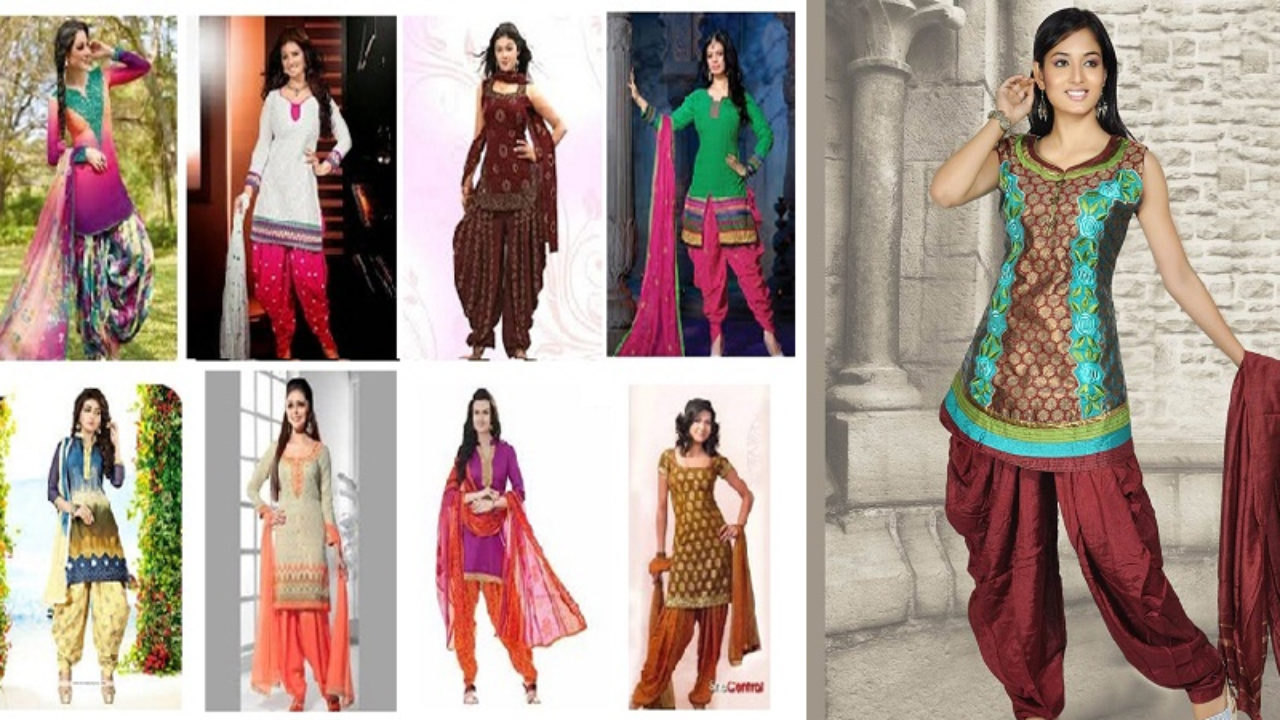 20 Elegant Designs of Patiala Salwar Suits For A Perfect