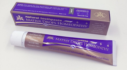 Matrix Drops Homeopathic Toothpaste