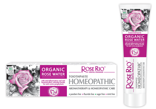 Rose Rio Homeopathic Toothpaste