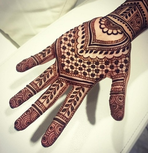 Simple Indian Mehndi Designs For Hands