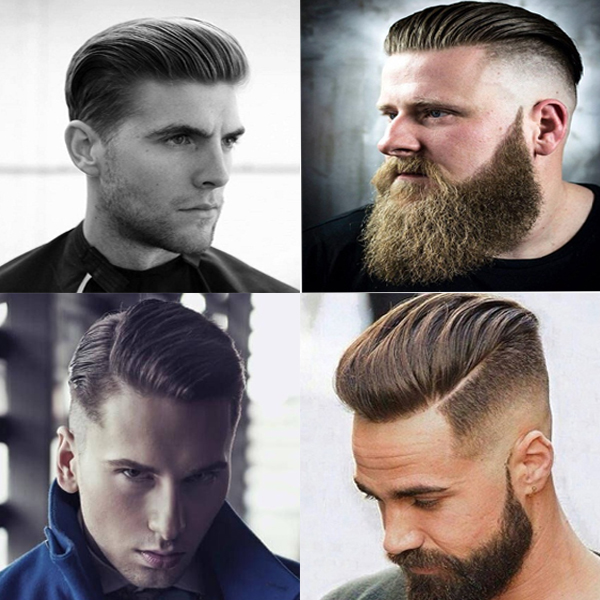 Slick Back Hairstyles
