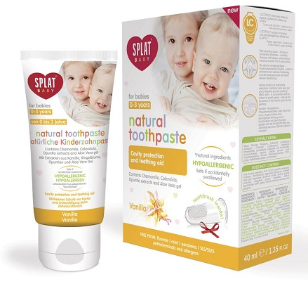 Splat Baby Natural Toothpaste