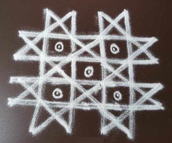 pongal kolam rangoli designs with dots