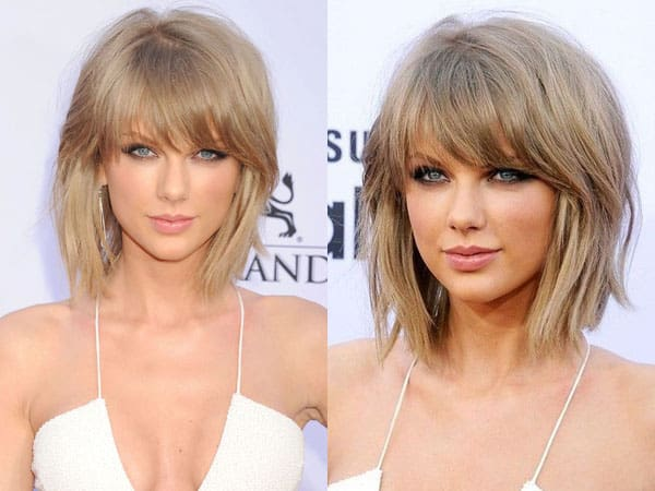 The Blonde Medium Layered Hairstyle