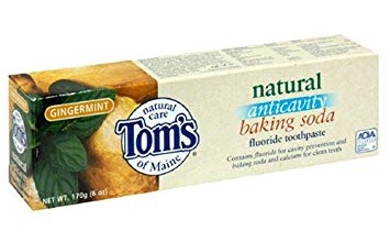 Tom's Baking Soda Natural Fluoride Toothpaste