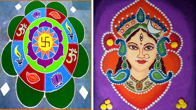 Traditional Rangoli Designs for Festival