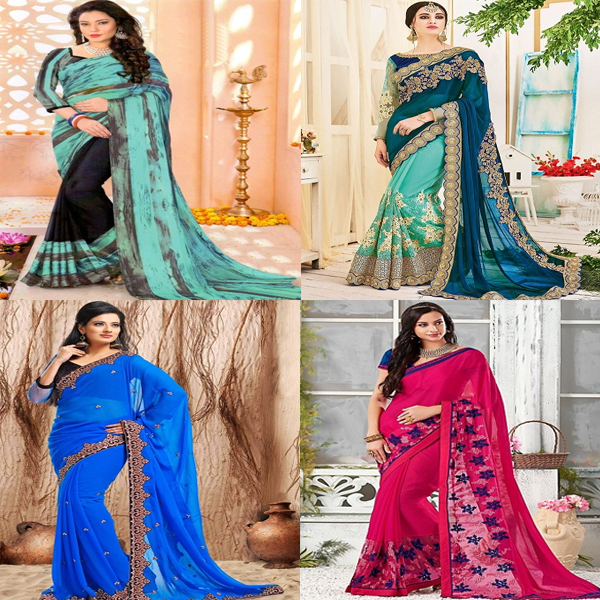 Trendy Chiffon Sarees For Stylish You