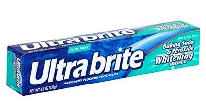 Ultra Brite Baking Soda & Peroxide Toothpaste