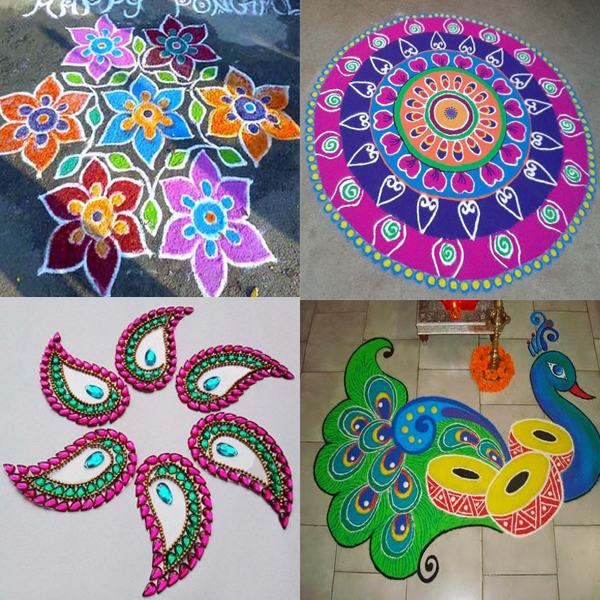 Unique Indian Art Rangoli Designs That are Trending