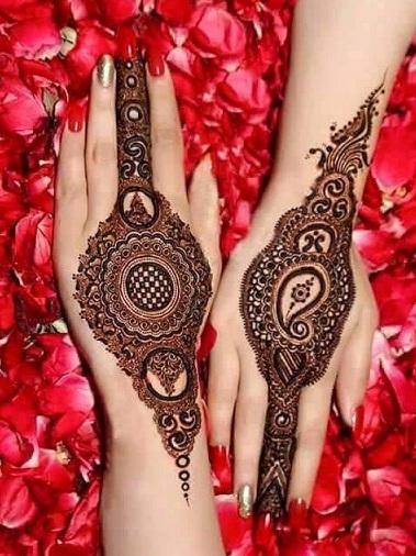 Floral Mehandi Design