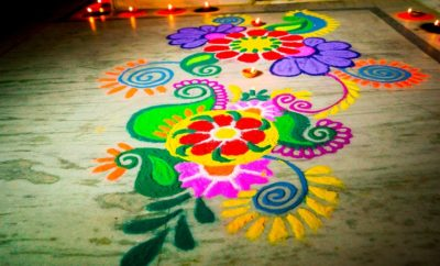 latest rangoli designs 2019