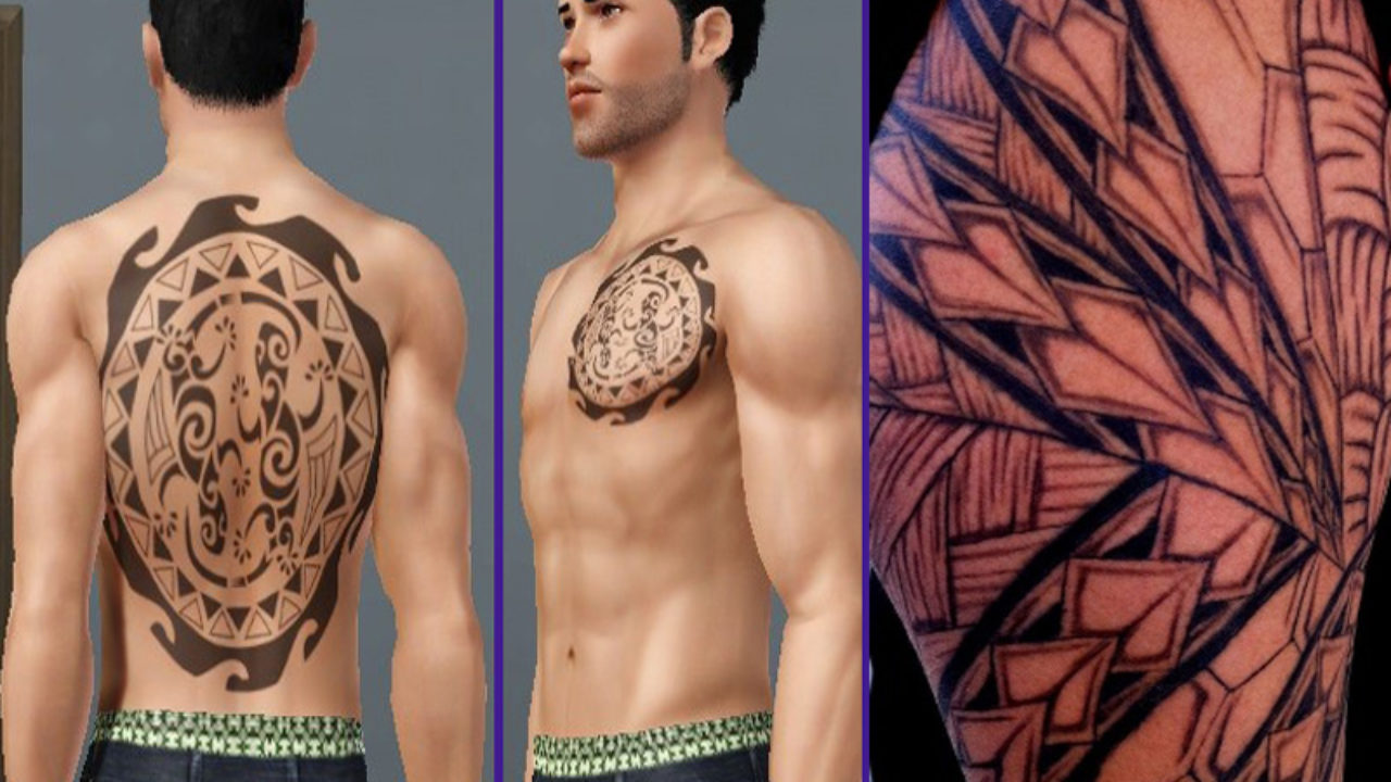 Strong Small Chest Tattoos For Men With Meaning