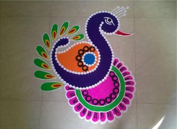 Easy Decorative Rangoli
