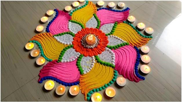 Best Diwali Rangoli
