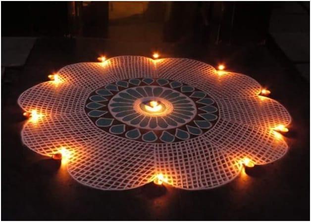 Mandala Rangoli Design