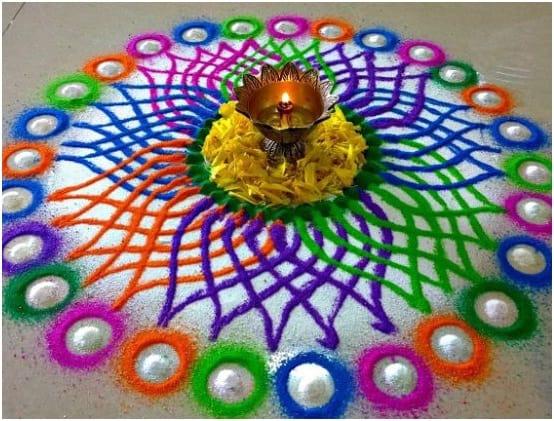 Rainbow Kolam