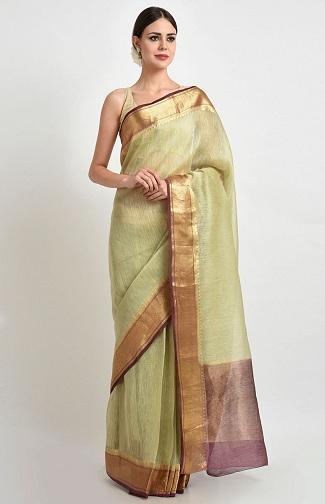 Banarasi Linen Sarees