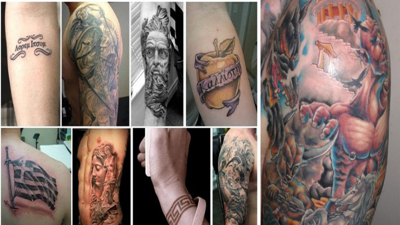 15 Best Ancient Greek Tattoos And Their Meanings Styles At
