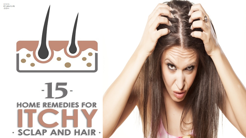 Best Home Remedies For Itchy Scalp And Hair