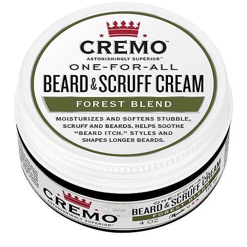 Cremo Beard Scruff Cream for Healthy Beard