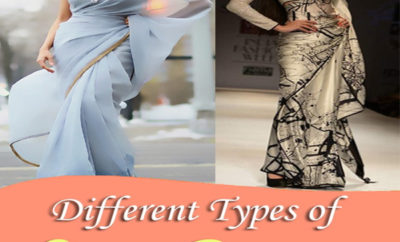 Different Types of Sarees In India – Our Top 30
