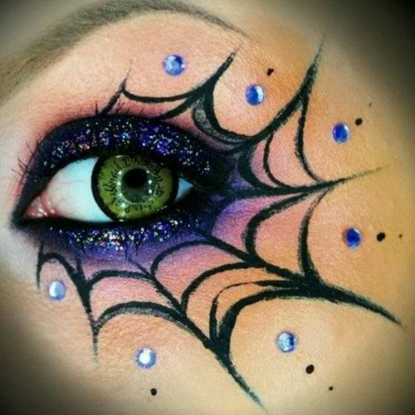 Halloween Eye Makeup 2018 – How To Do