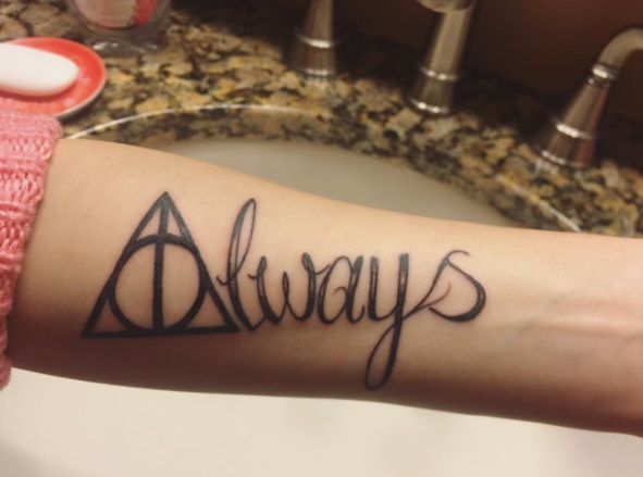 Harry Potter Always Tattoo