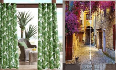 Latest and Elegant Printed Curtain Designs