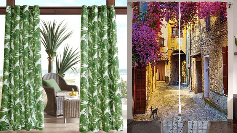 Latest and Elegant Printed Curtain Designs