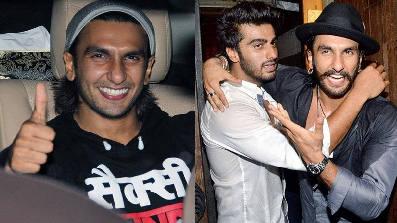 Pictures of Ranveer Singh without Makeup