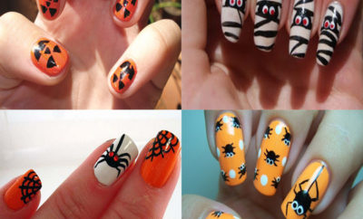 Simple and Easy Halloween Nail Art Designs 2018