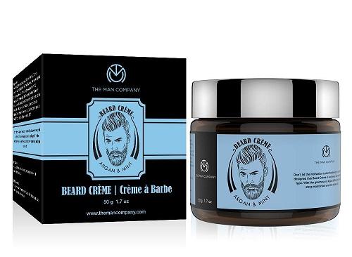 Crème ramollissante pour barbe The Man Company - Argan et menthe