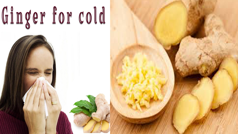 Benefits Of Ginger For Cold