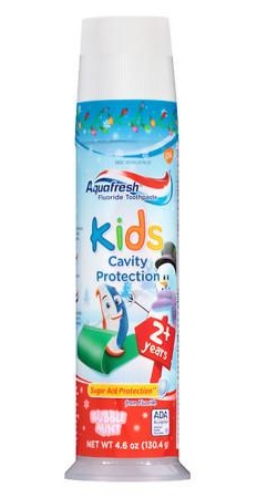 Aqua Fresh Toothpaste for Toddlers