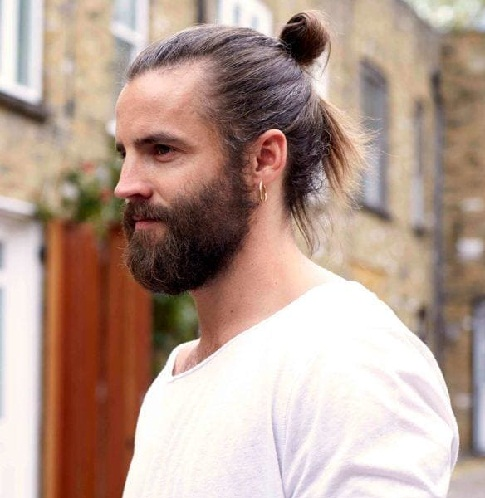 Man Bun Hairstyles5