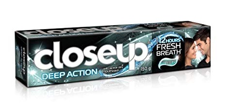 Closeup Deep Action Eucalyptus Toothpaste
