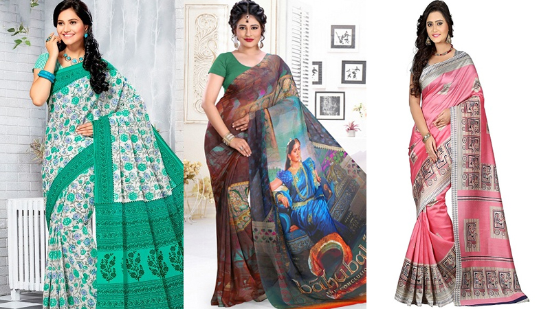 Colorful Printed Sarees For The Modern Diva
