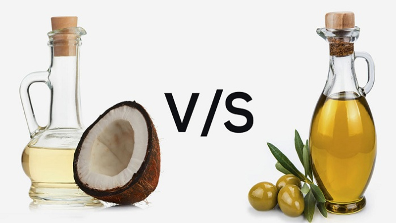 Difference Between Olive Oil vs Coconut Oil – Which is Better