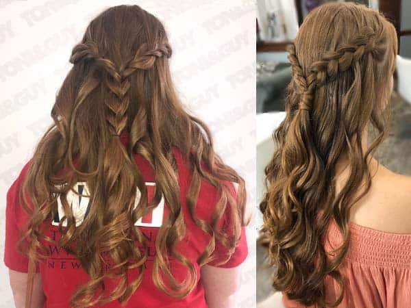 Braided Hair Leave Style