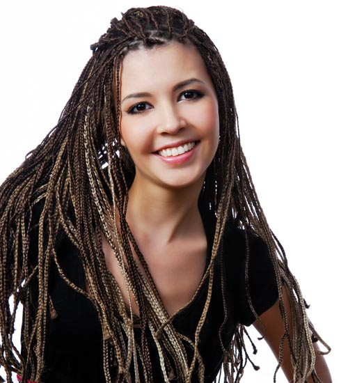 Funky Hairstyles For Long Hair 3