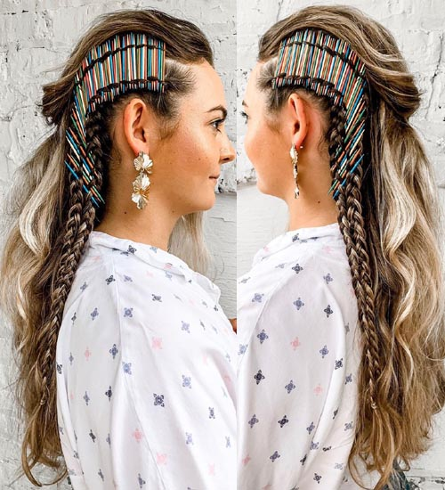 Funky Hairstyles For Long Hair 6