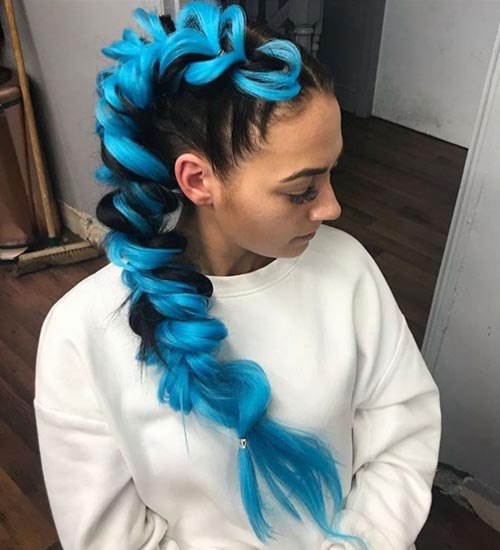 Funky Hairstyles For Long Hair 7