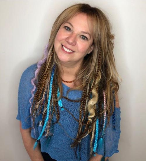 Funky Hairstyles For Long Hair 9