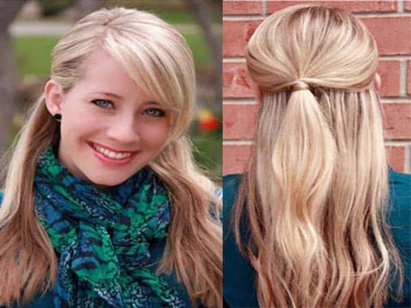 Half Pony Hairstyles 2