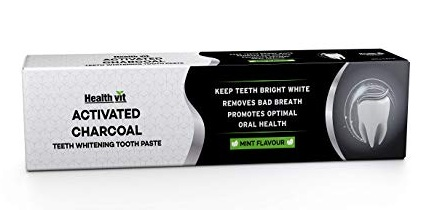 Health vit Activated Charcoal Toothpaste