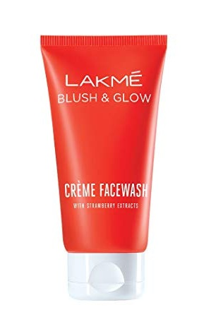 Lakme Strawberry Crème Face wash