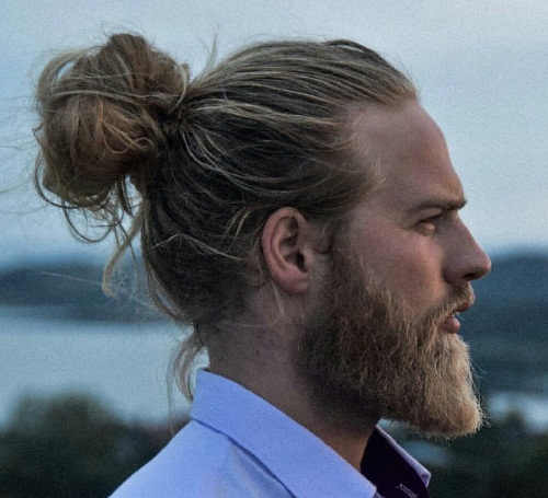 Man Bun Hairstyles3