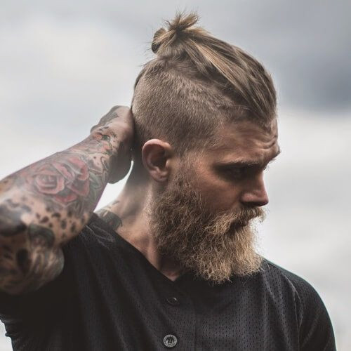 Man Bun Hairstyles4